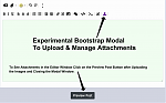 Experimental Bootstrap File Manager in Advanced Editor