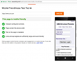 Bing Mobile Friendliness Test Tool