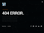 New 404 Page, Sans Animation