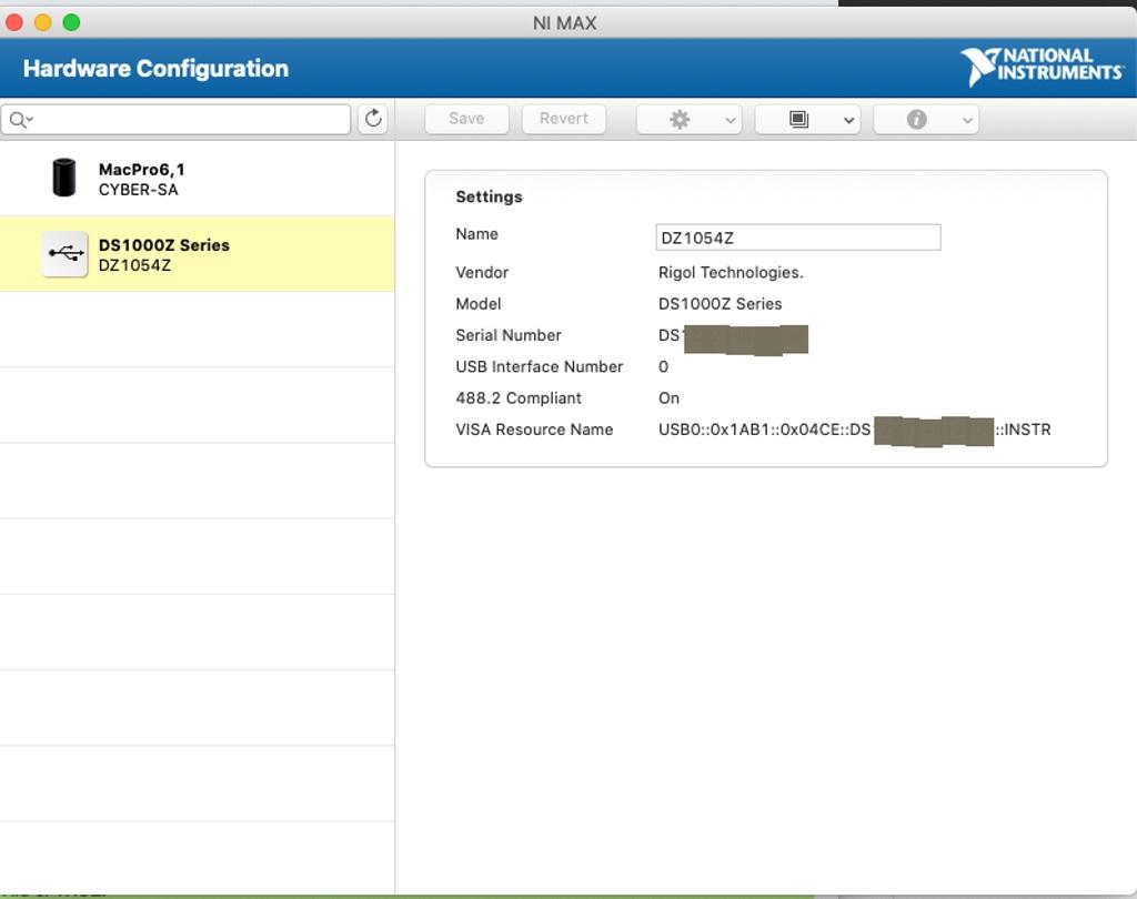 Python Screen Capture of RIGOL 1054Z on macOS Catalina Using NI-VISA-screen-shot-2020-01-16-50203-pmjpeg