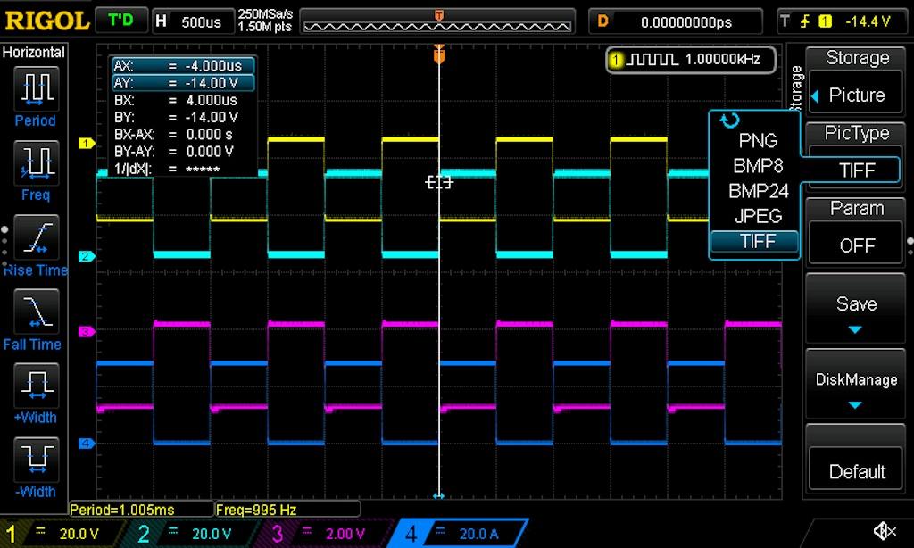 Python Screen Capture of RIGOL 1054Z on macOS Catalina Using NI-VISA-hello_invertedjpg