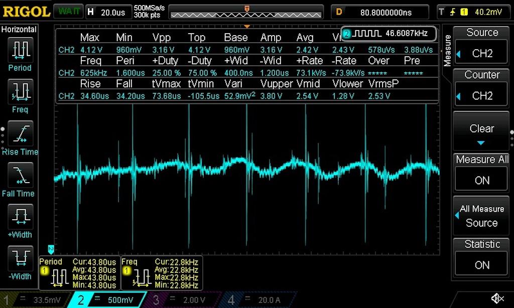 Python Screen Capture of RIGOL 1054Z on macOS Catalina Using NI-VISA-noise_blue51jpg