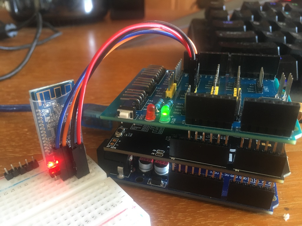 Arduino Project:  iPhone to HM-10 BLE to NB-IoT Shield to NB-IoT Network to Internet to Linux Server-img_9052jpg