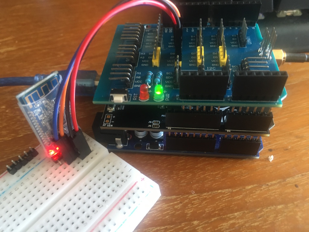 Arduino Project:  iPhone to HM-10 BLE to NB-IoT Shield to NB-IoT Network to Internet to Linux Server-img_9053jpg