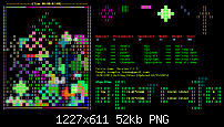 Tetris Game -- based on a shell script (new algorithm)-gnome4-png