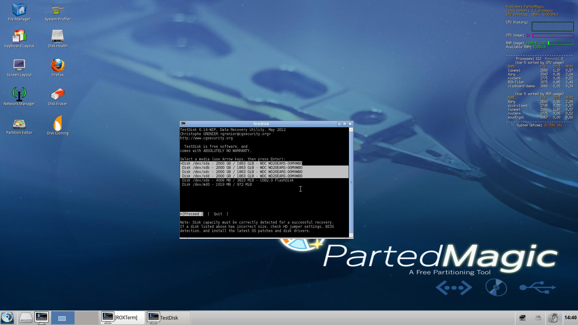 Help with kernel panic - not syncing slackware 13 0 - UNIX