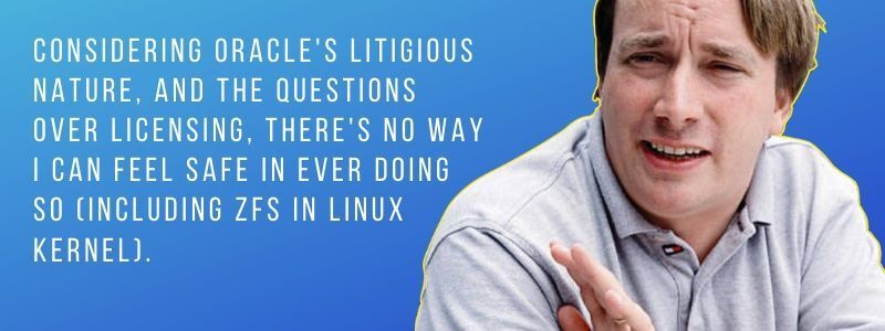 Should I use a CoW filesystem on my PC if I only wanted snapshot capabilities ?-linus-torvalds-zfs-quotes-1jpg