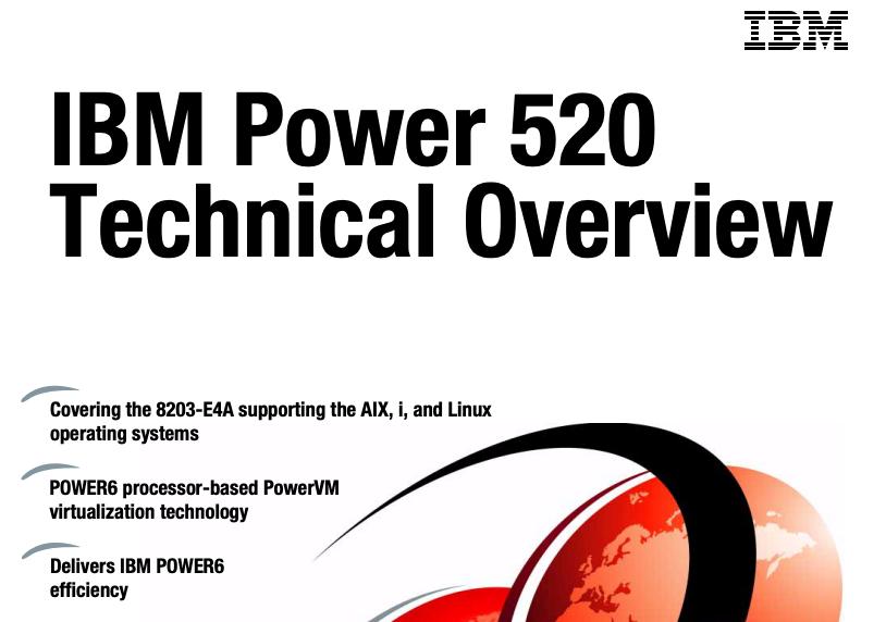 IBM Power 520 Technical Overview - IBM Redbooks