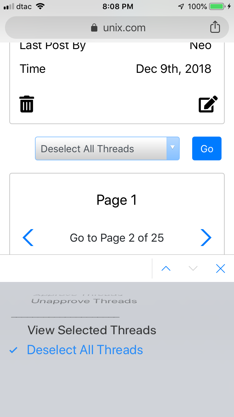 Mobile Inline Moderation