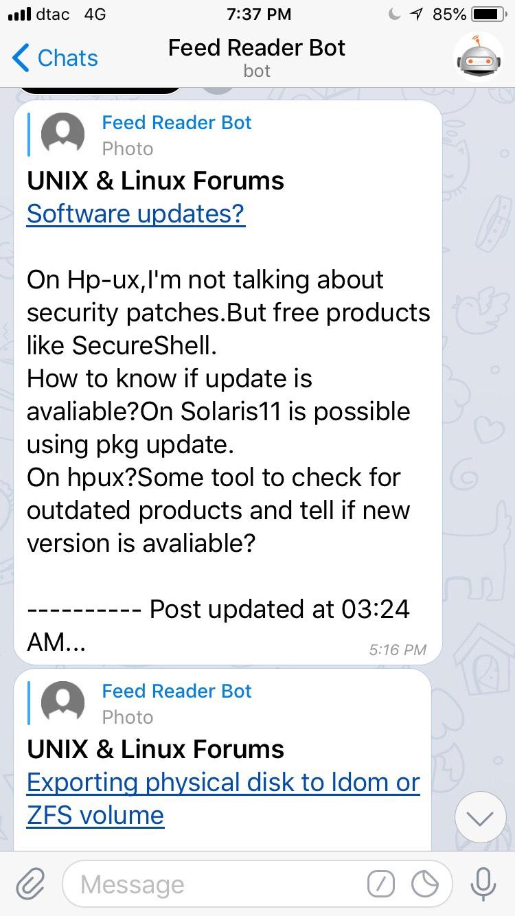 Telegram Bots - Bot Code Examples