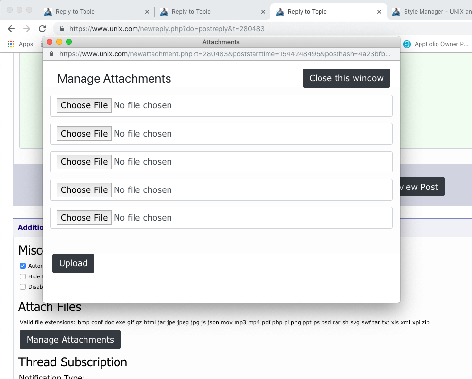 Bootstrap Changes to Advanced Editor and Attachments Form - Page 2